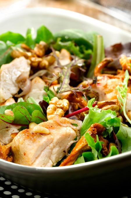 Ris de veau en salade