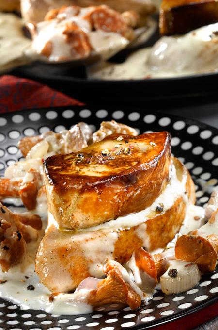 Blanquette de dinde au foie gras