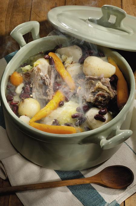 Soupe à la carcasse d'oie