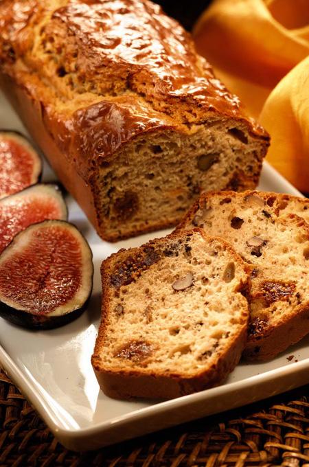Cake au foie gras et aux figues